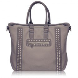 Punk Rivets and Embossing Design Women's Tote Bag - Alternative Measures -