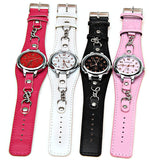 Pink Analog Punk Chain Women's Wrist Watch - Alternative Measures -  - 4