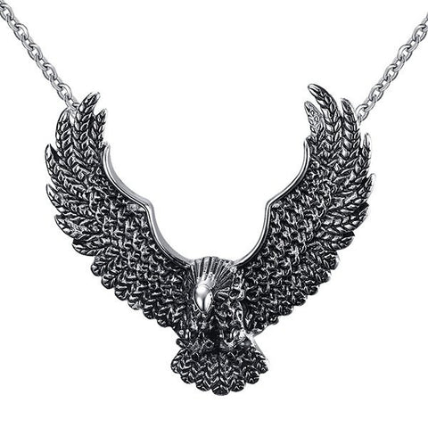 Vintage Eagle Necklace For Men