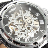 Steampunk Vintage Style Mechanical Wristwatch - Alternative Measures -  - 2
