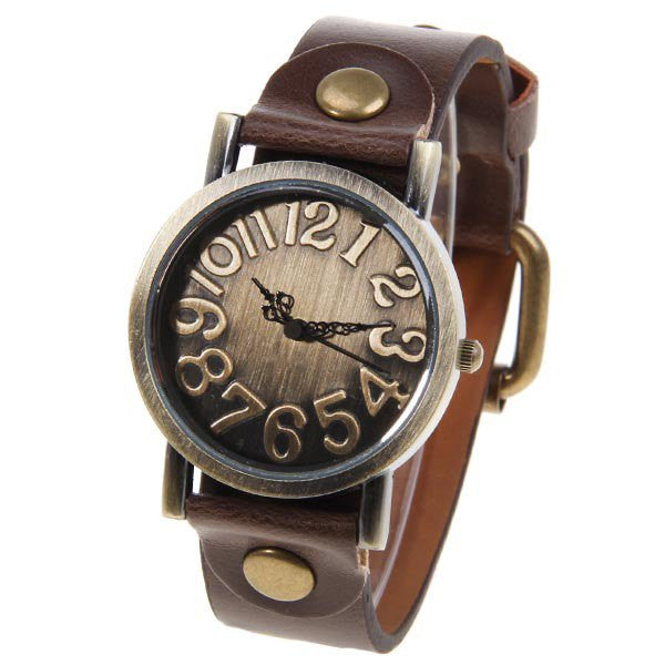 Steampunk Vintage Style Uni Collectible Watch - Alternative Measures -