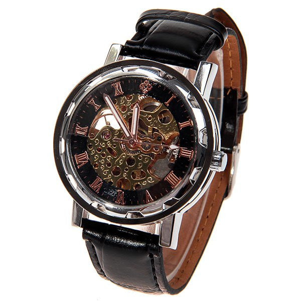 Vintage Steampunk Style Mechanical Watch - Alternative Measures -