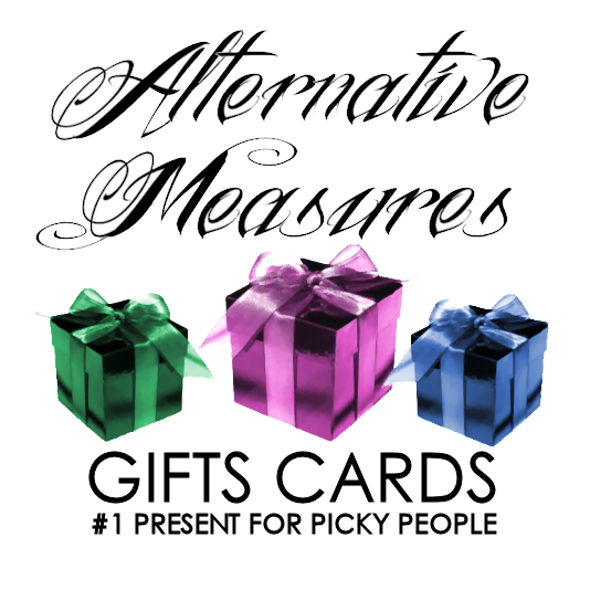 Alternative Measures Gift Cards Alternative Measures - Alternative Measures