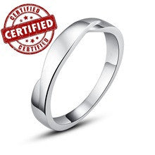 (1 pieces /men) 100% Solid Sterling silver 925 18k gold plated men's engagement ring  birthday jewelry inchSimple Loveinch - Alternative Measures