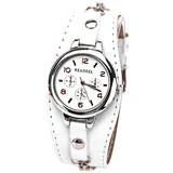 Pink Analog Punk Chain Women's Wrist Watch - Alternative Measures -  - 3