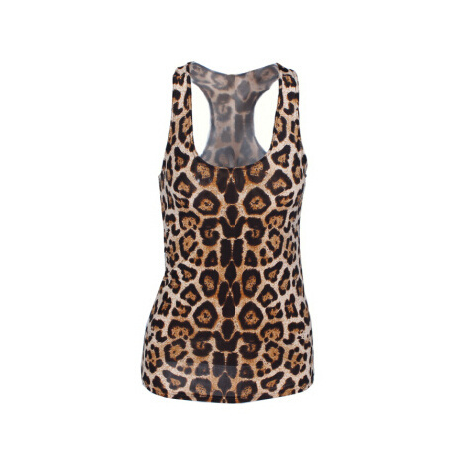 Pop Culture Printed Camisole Tank Top - Cheetah - Alternative Measures -