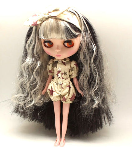 DIY for Doll Making Nude Factory Blythe 1/6 Scale BJD Custom Blythe Dolls High Quality Doll Supplies - No Clothes - Free Shipping Worldwide - Alternative Measures