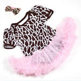 0-12M Lovely Baby Toddler Girls Ruffles Tutu Dress Romper One-Piece Outfit Dresses Clothes + Headband  L4 - Alternative Measures
