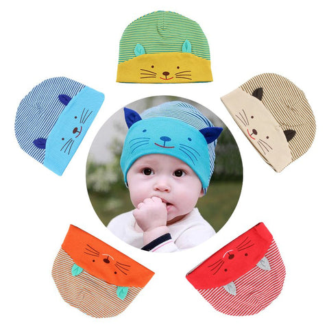 0-3 Years Baby Hats Boys Girls Warm Cap Toddler Beanies Fox Triangle Panda lovely Design Hat Kids Child Infant Hat Caps J2 - Alternative Measures