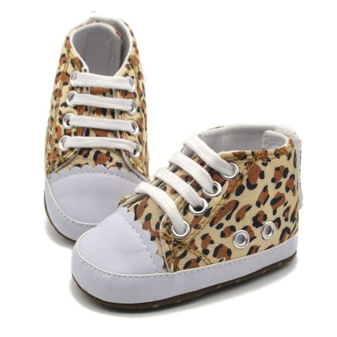 0-18 Months Baby Girls Infant Toddler Leopard Crib Shoes Walking Sneaker Size Spring Autumn PY6 L4 - Alternative Measures