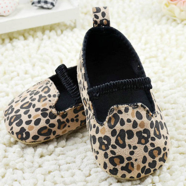 0-18M Toddler Baby Infants Leopard Crib Shoes Boy Girls Soft Sole Shoes Prewalker Hot Sale Free Shipping L4 - Alternative Measures