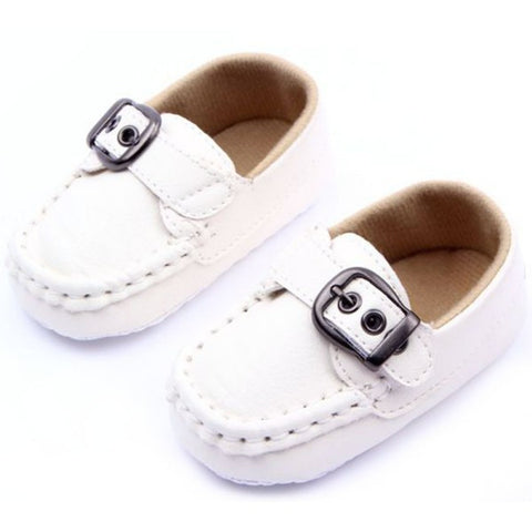 0-12M Unisex Baby Boys Girls PU Leather Cozy Anti Slip Bottom Sneakers Kids Soft Shoes First Walkers Free Shipping L4 - Alternative Measures