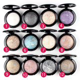 1 pc Single Baked Eye Shadow Powder Palette in Shimmer Metallic Eyeshadow Palette 12 colors for your choice - Alternative Measures