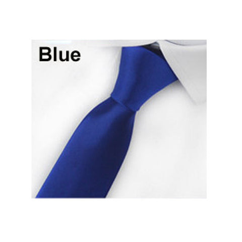 DOORCRASHER Men's Necktie 24 Style Silk Ties for Men Solid Color Celebrity Slim Mens Neck Skinny Tie 5cm Men's Accessories - Alternative Measures