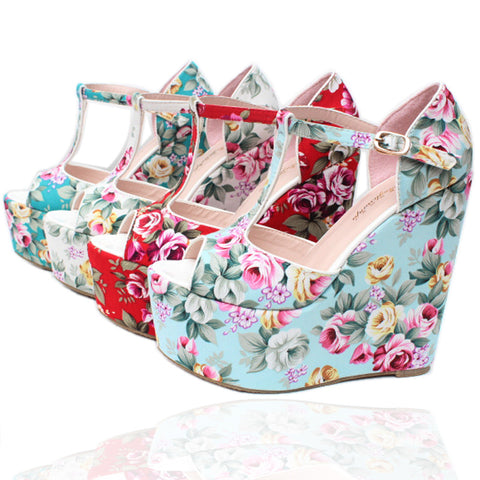 2013 vintage national trend print wedges sandals customize small 30 plus size 43 bohemia - Alternative Measures