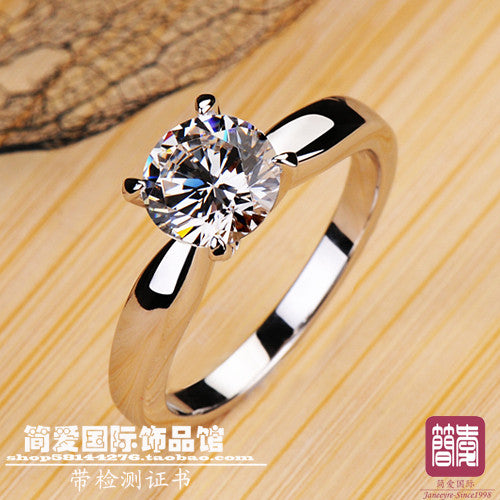 1.2 CARAT LUXURY QUALITY BEAUTIFUL FOREVER HEARTS AND ARROWS NSCD SYNTHETIC STONE WEDDING BAND - Alternative Measures