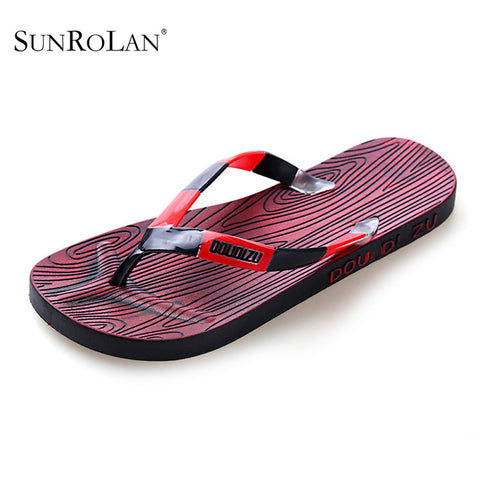 2016 Men's Flip Flops Sandals PVC Casual Men Shoes Summer Fashion Beach Flip Flops  Massage Outdoor Male Sandals SLB-804-3 - Alternative Measures