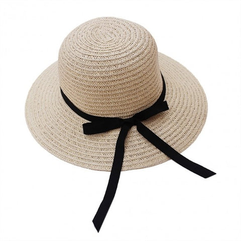 !!!Summer Hats for Women Fashion Women's Sun Foldable Straw Hats Beach Headwear 2 Colors 30 Alternative Measures - Alternative Measures