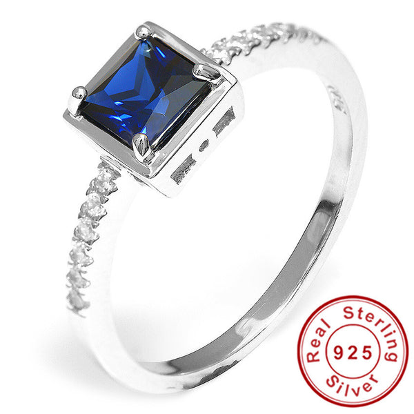0.8ct Sapphire Ring Alternative Measures - Alternative Measures