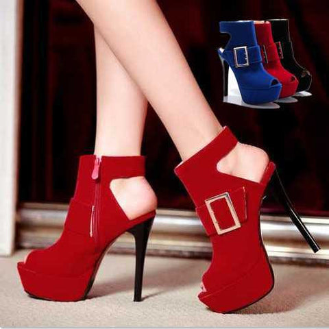 2014 brand new high heels open toe platform women pumps sexy night club dancing shoes gladiator ankle straps wedding shoes - Alternative Measures