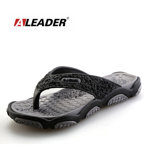 2016 Men's Sandals Casual Summer Slippers Shoes Men Lesiure Rubber Platform Sandals Beach Flip Flops For Men sandalias mujer - Alternative Measures