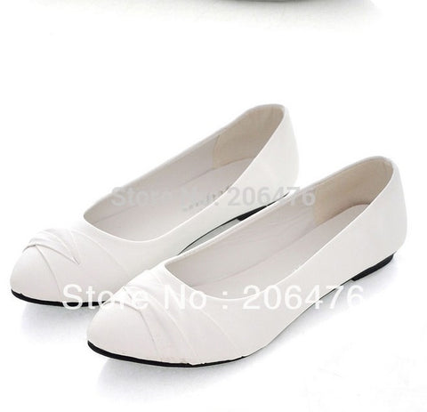 2013 NEW Lace up Women shoes for Lady fashion flat shoes Black & White - Alternative Measures