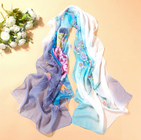 2014 New Brand Scarf Women Ice Slik Scarves Winter Cotton Scarf And Shawl Size 160*50CM - Alternative Measures