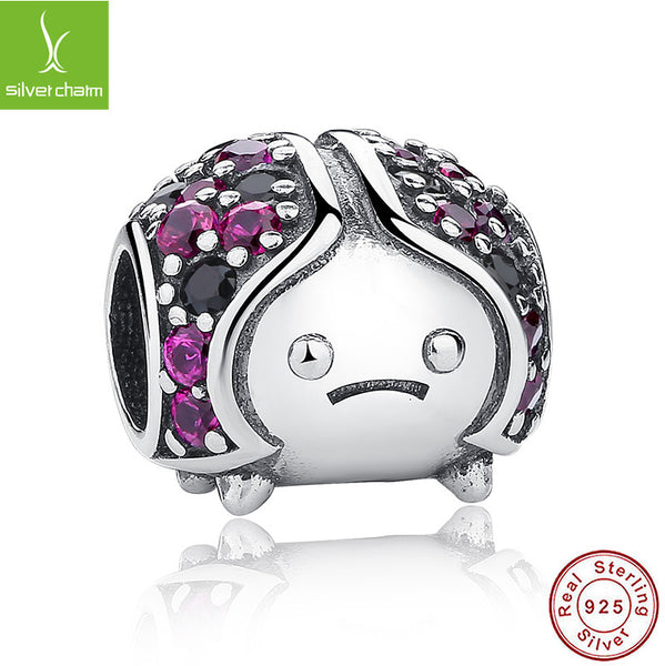 100% 925 Sterling Silver Sparkling Ladybug Charm Fit Original Pandora Bracelet Necklace Authentic Jewelry Women Wholesale Gift ALX-SCJS - Alternative Measures