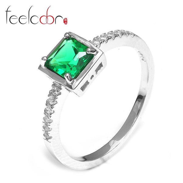 0.8ct Nano Russian Emerald Ring - Alternative Measures