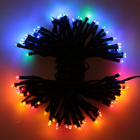100 LEDs Outdoor Waterproof Solar Lamps Lights RGB/Red LED String Garden Solar Light For Christmas Holiday Festival Decoration - Alternative Measures