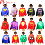 1 pc kids superhero capes movie hero baby superhero costumes for boys girls children birthday gift Party supplies heros cosplay - Alternative Measures