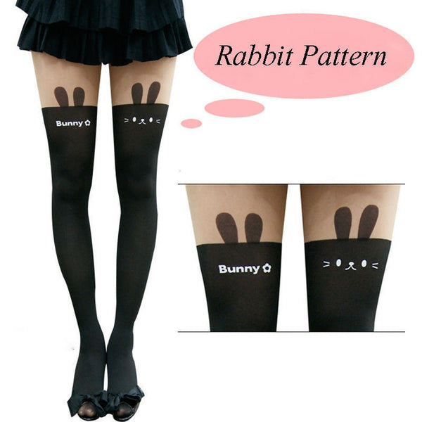 1 X Hot Sale Womens Girls Sexy Kawaii High Cat Thigh High Hosiery Over The Knee Pantyhose High Medias Stockings - ALX-SH - Alternative Measures