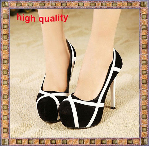 2013 new fashion sexy women's pumps platform ultra high heels pumps and women's bridal shoes shoes free/drop shipping - Alternative Measures