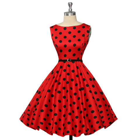 13 Colors Grace Karin New Plus Size Women Print Vintage 50's 60s Style Rockabilly Pin-up Swing Prom Ball Retro Dress CL6086 Alternative Measures - Brides & Bridesmaids - Wedding, Bridal, Prom, Formal Gown - Alternative Measures