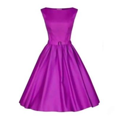 Purple Made-to-Order Retro 50s Pinup Girl Rockabilly Style Dress by After The Rain - Brides & Bridesmaids - Wedding, Bridal, Prom, Formal Gown - Alternative Measures -