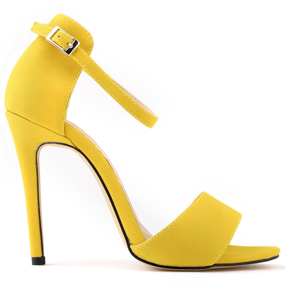 Yellow High Heels For Wedding sXzXjIMk