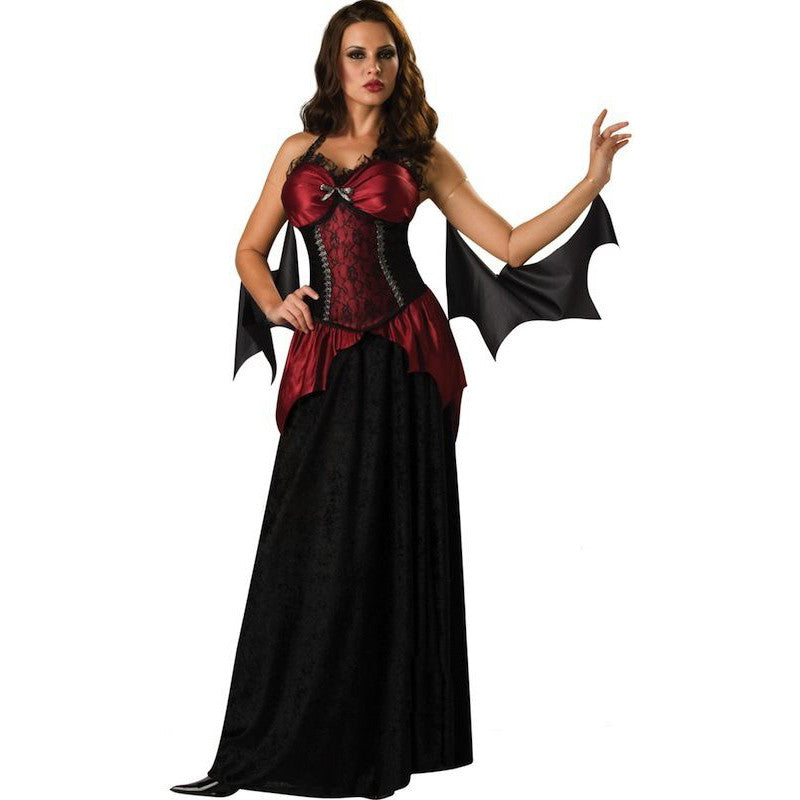 Y Gothic Vampiress Costume Adult Victorian Vampire Dress Party Cosplay Halloween Costumes For Women Fancy