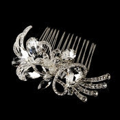 * Beautiful Crystal Vintage Swirl Inspired Wedding Bridal Hair Comb 586 - Alternative Measures