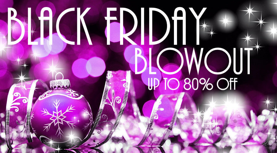 Black Friday Blowout Sale - Up to 80% off everything in our store!