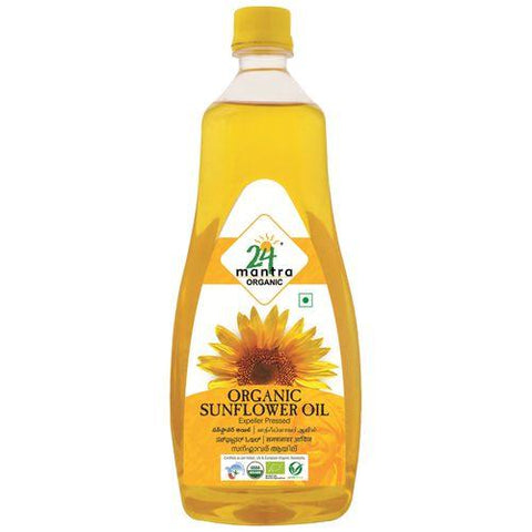 24 mantra Sunflower Oil 1000ml