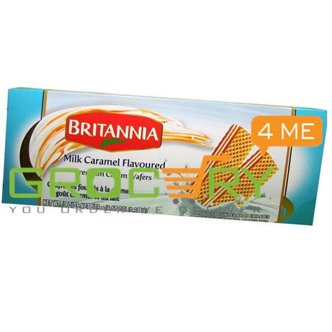 Milk Caramel Wafer (Britannia) 175g