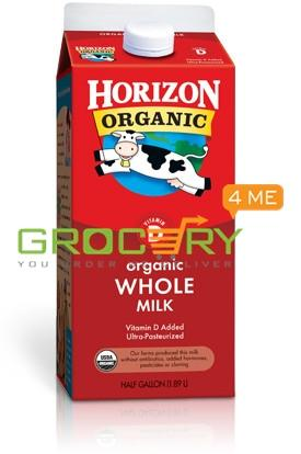 Horizon Organic Whole Milk (1/2 gallon)