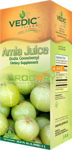Conventional Amla Indian Gooseberry (Vedic Juices) 500ml