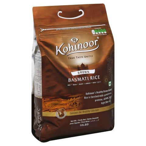Kohinoor Brown Basmati Rice (10Lb) 12