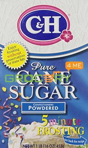 C&H Pure Cane Sugar Powdered