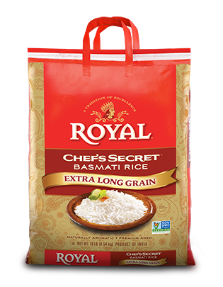 Chefs Secret Extra Long Grain Basmati Rice (Royal) 10Lb 12
