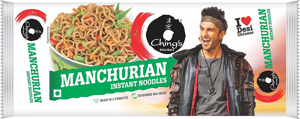 Chings Secret Manchurian Instant Noodles - 240G 11 Snacks