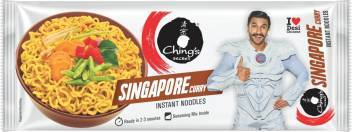 Chings Secret Singapore Curry Noodles - 240Gm 11 Snacks