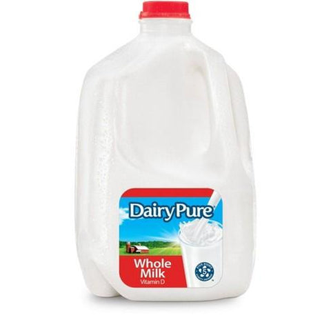 Dairypure Whole Milk Vitamin D (Berkley Farms) 1 Gallon 19 Dairy