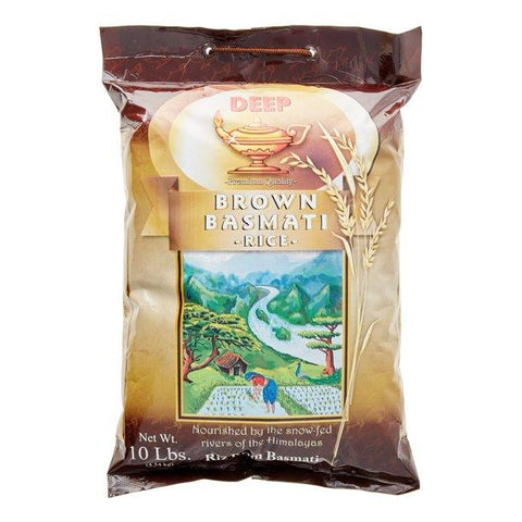 Deep Brown Basmati Rice (10Lb) 12